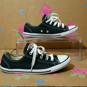 Converse All Star Black and White Size 6
